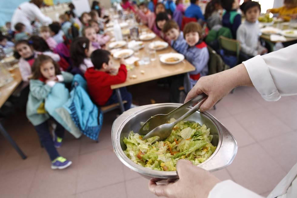 Ceip padre claret for Trabajo de comedor escolar